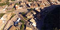 360 degree aerial panorama of Deadwood, SD.